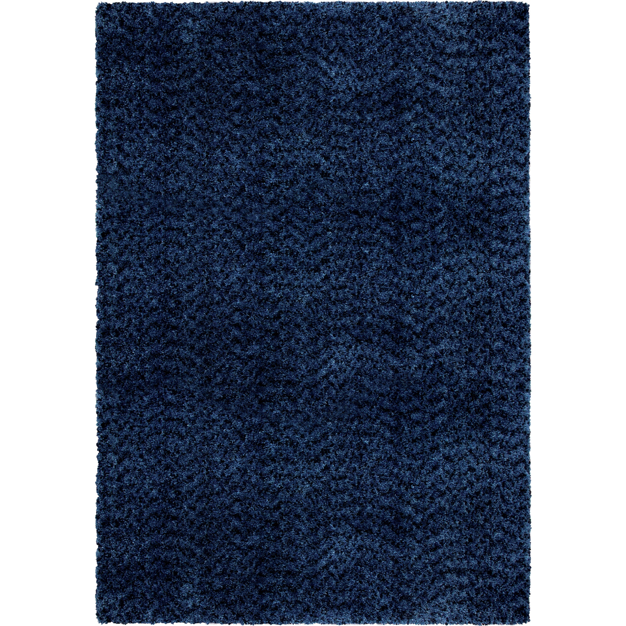 "Palmetto Living Cotton Tail Solid Royal Area Rug - 2'3"" x 8'0"""