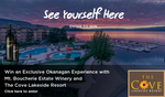 Win an Exclusive Okanagan Experience with Mt. Boucherie Estate Winery and The Cove Lakeside Resort