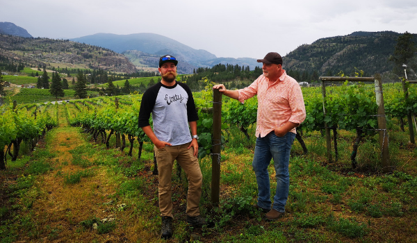 Mt. Boucherie Estate Winery Welcomes Manager of Viticulture