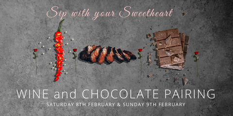 Sip with your Sweetheart - Wine and Chocolate West Kelowna
