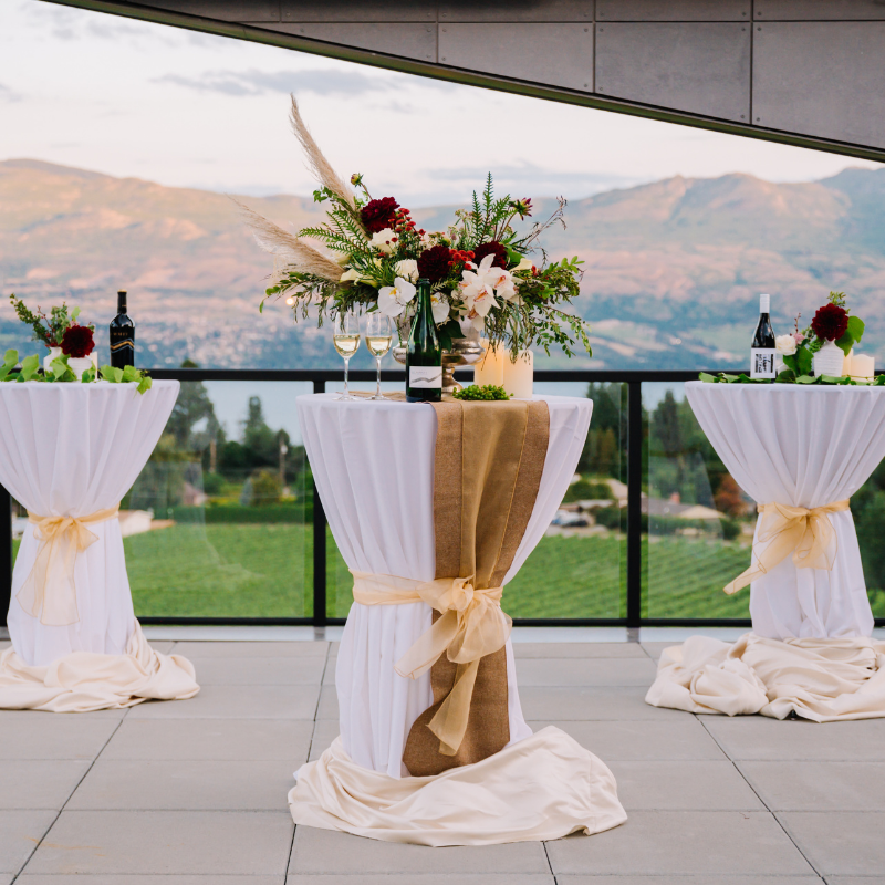 Views from Event at West Kelowna Winery