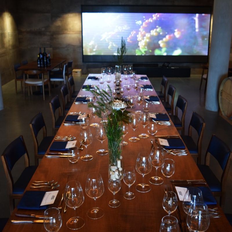 Barrel Room Long Table - Private Dining