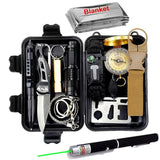 Travel Survival Kit Set - Multi-Function Emergency Tools