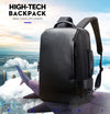 USB External Charge 15.6 Inch Laptop Travel Backpack Men Anti-Theft Waterproof
