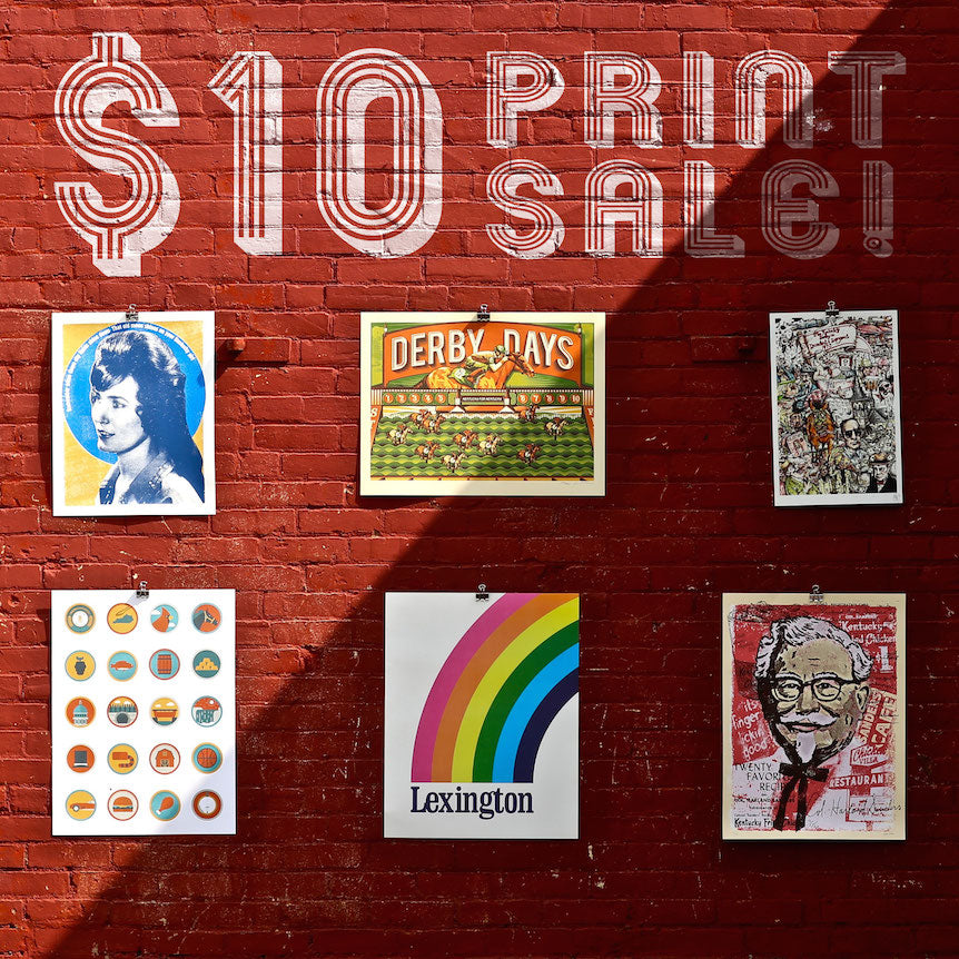 ONE DAY $10 PRINT SALE!