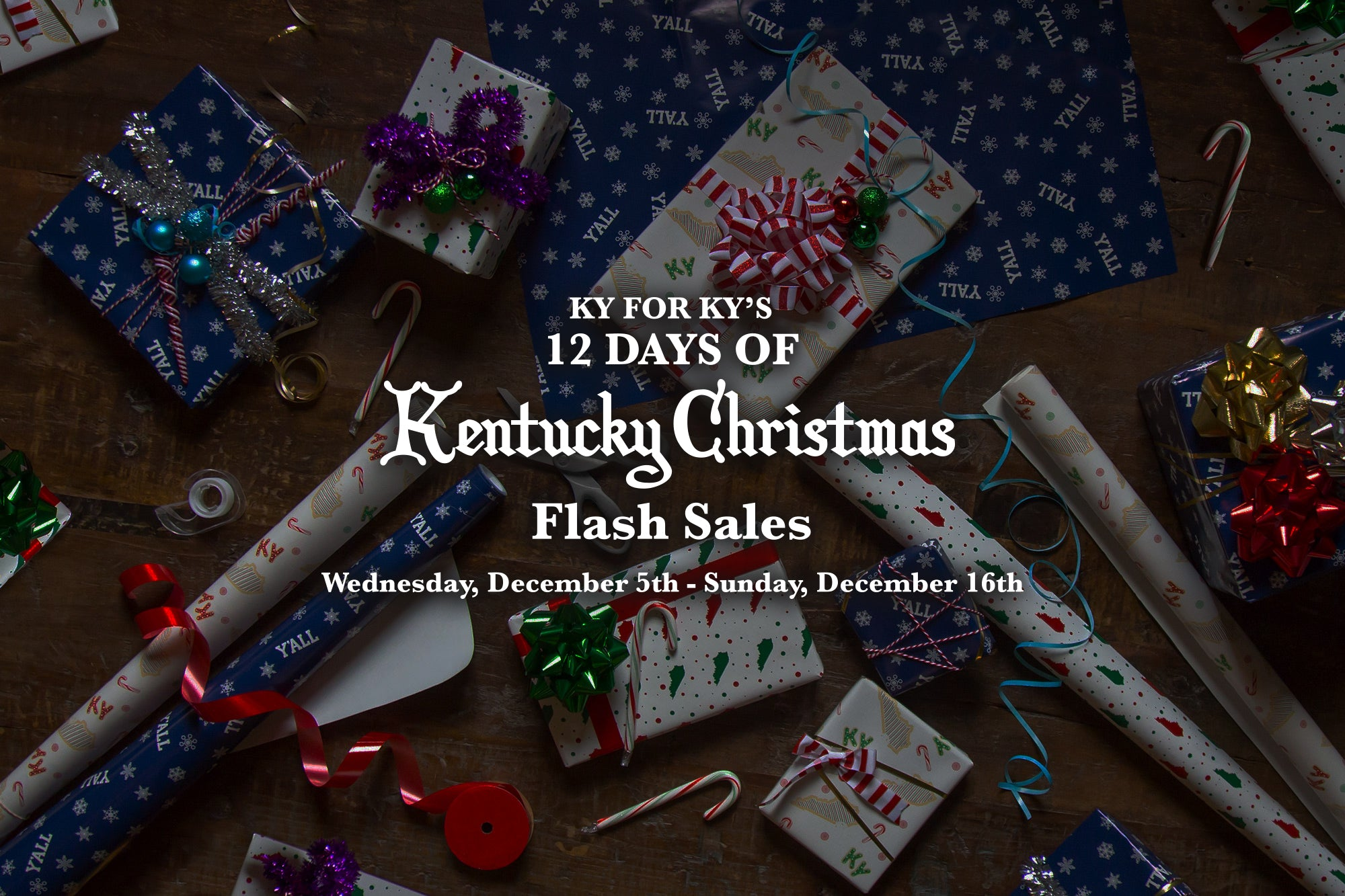 12 Days Of Kentucky Christmas Flash Sales