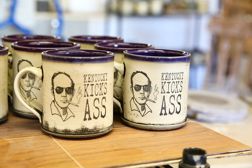 Hunter S. Thompson Mugs<br> by David Kring