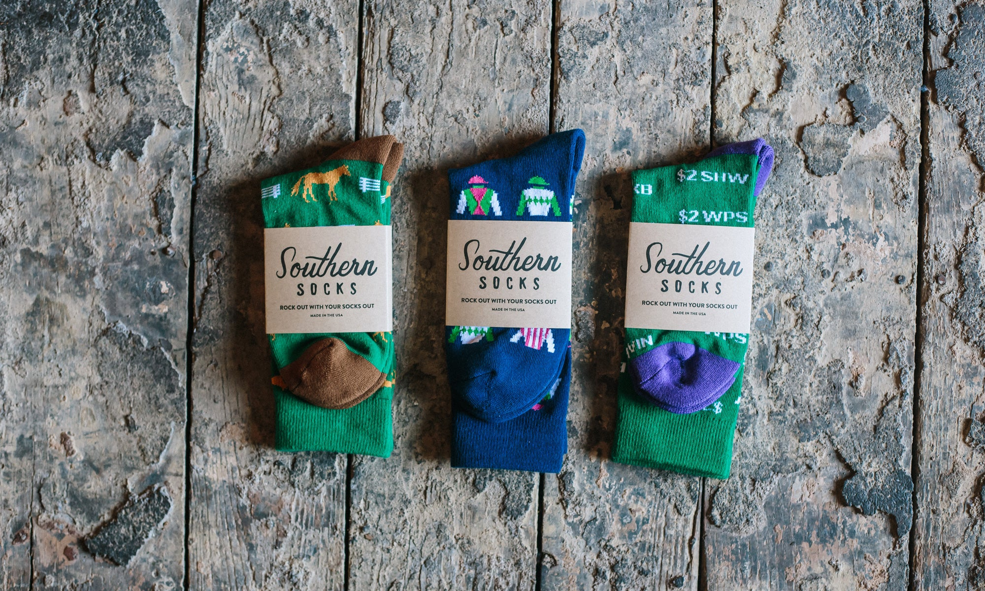 New Horse Racing Socks for Spring!