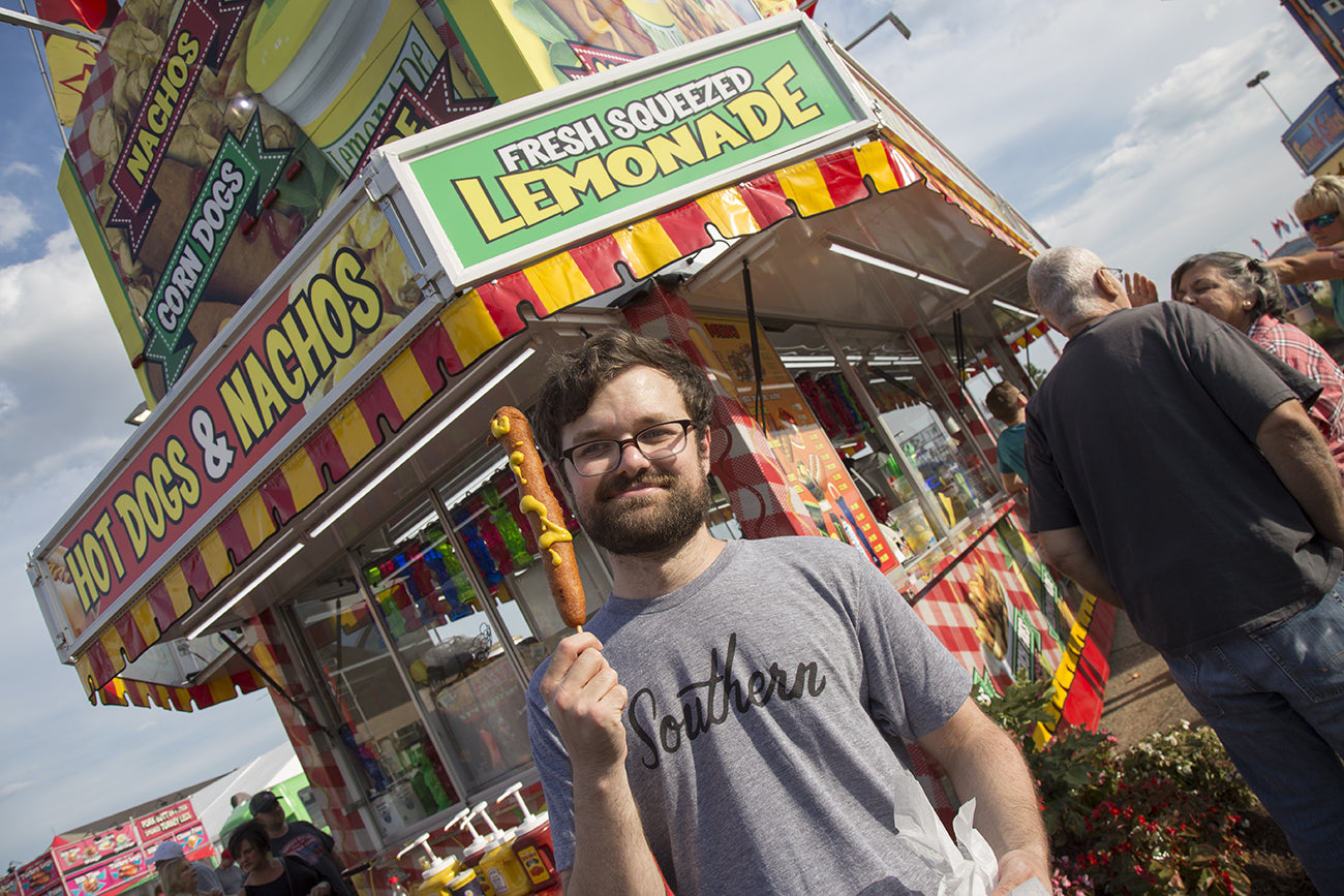 Local Man Eats Everything At State Fair