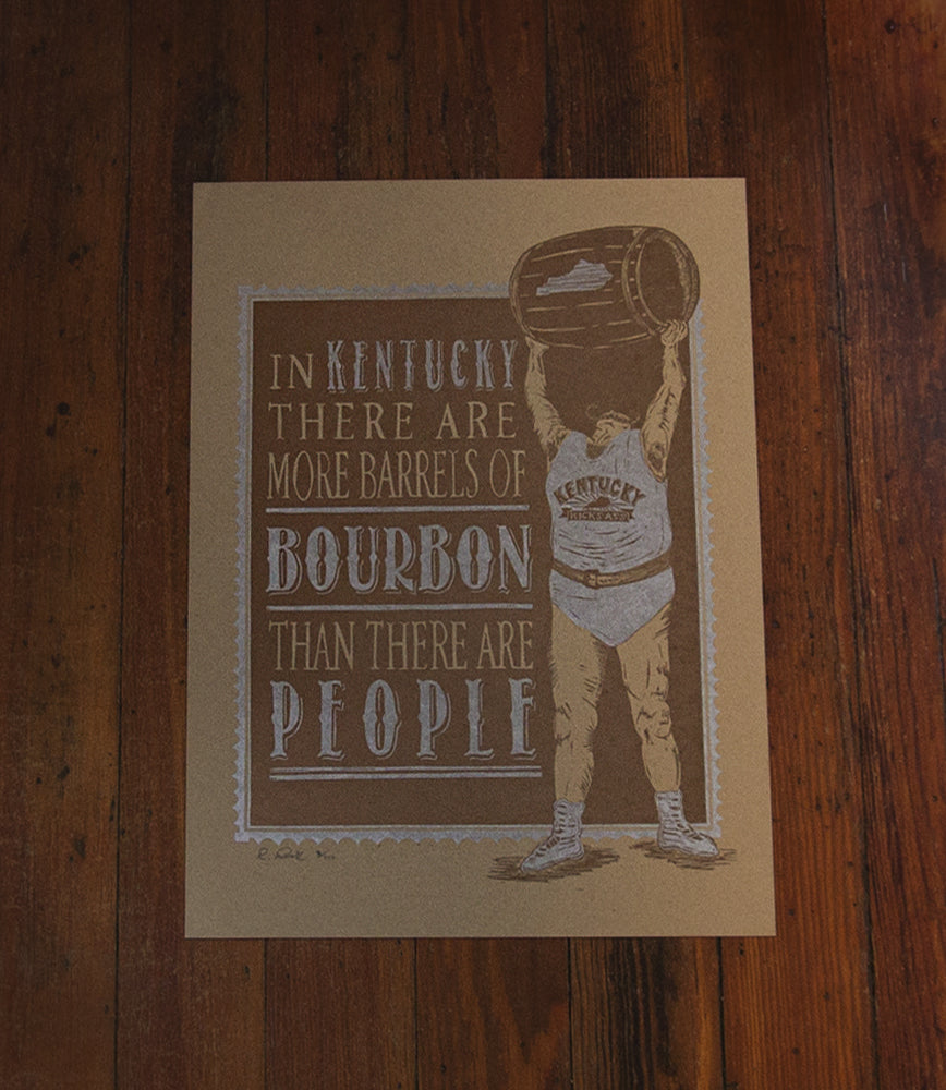In Kentucky, There Are More Barrels Of Bourbon Than There Are People