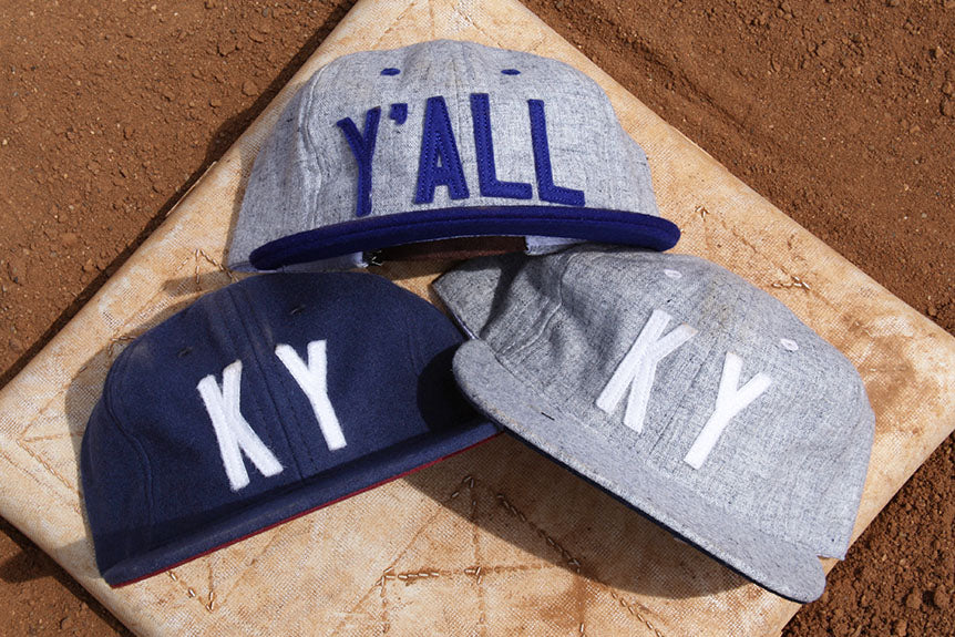 "New Ebbets Field Flannels a""KY"" and Y'ALL Baseball Caps Dropping Next Wed."