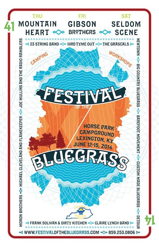 Come Join Us at the Festival of the Bluegrass!
