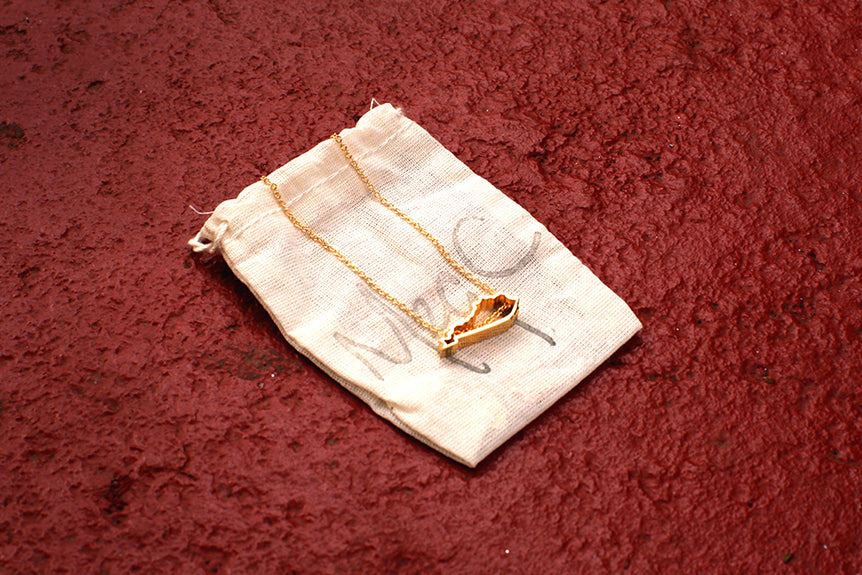 OG Gold Kentucky Necklaces By Meg C