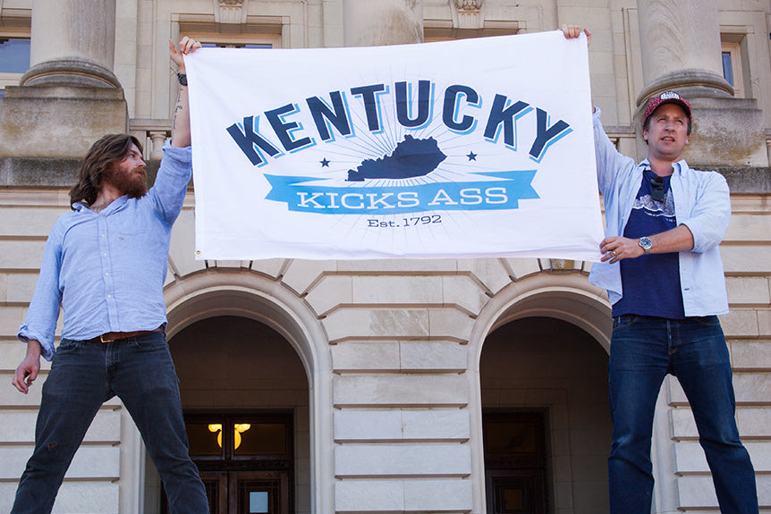 Kentucky Kicks Ass Flags <br>Are Back