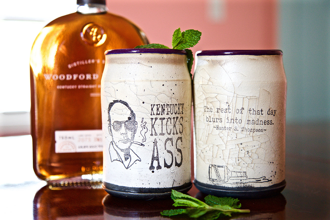 Hunter S. Thompson Tumblers By David Kring