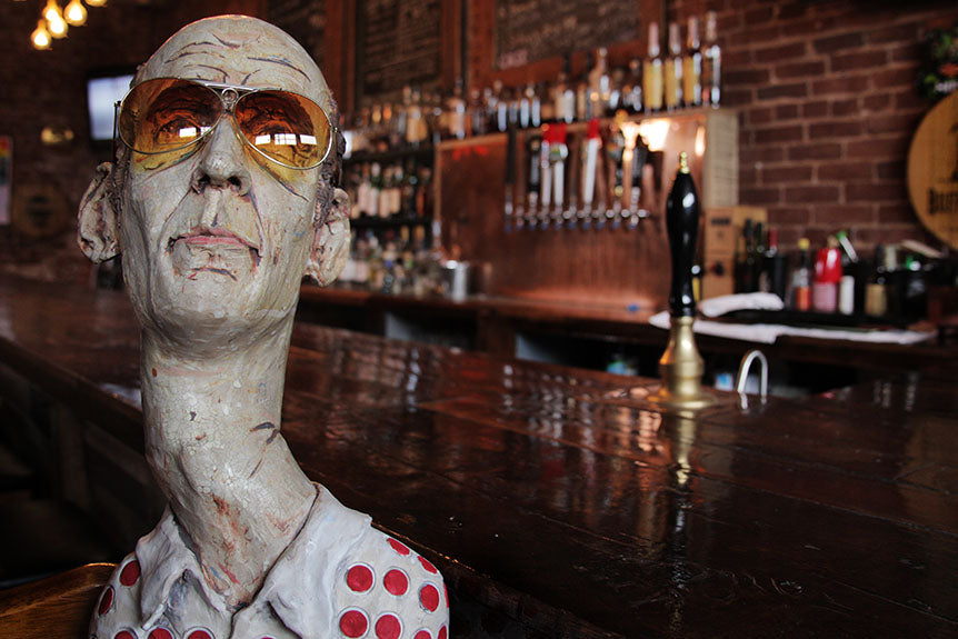 "David Kenton Kring Has Created The World's Most Epic ""Hunter S Thompson"" Tribute Sculpture (And It Can Be Yours)"