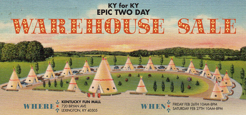 EPIC TWO-DAY WAREHOUSE SALE