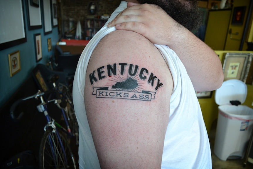 Kentucky Kicks Ass Tattoos