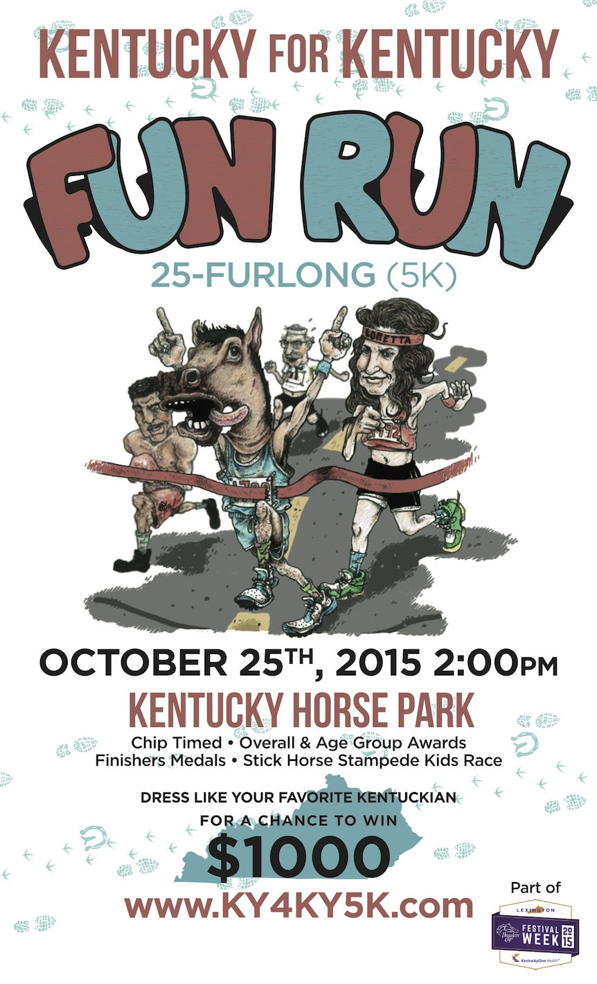Dress Like Your Favorite Kentuckian And Run A 5k With Us!