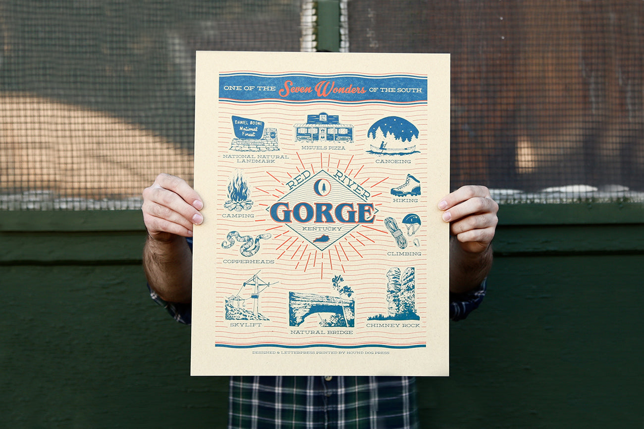 Red River Gorge Prints Are Back