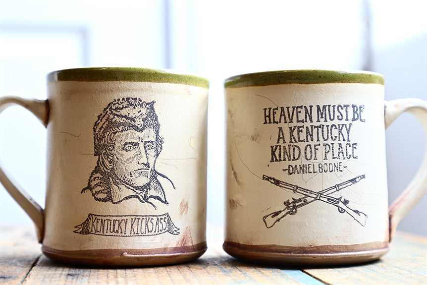 Daniel Boone Mugs By David Kenton Kring