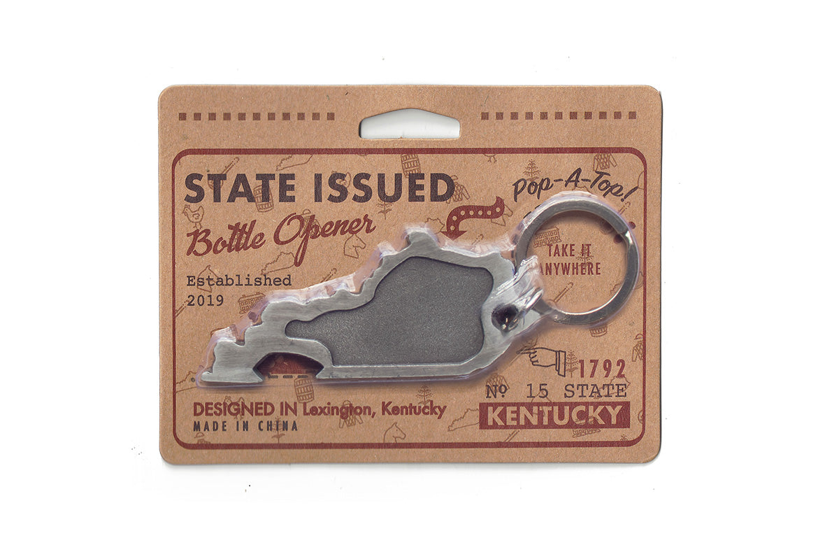 Kentucky Shaped Bottle Openers!