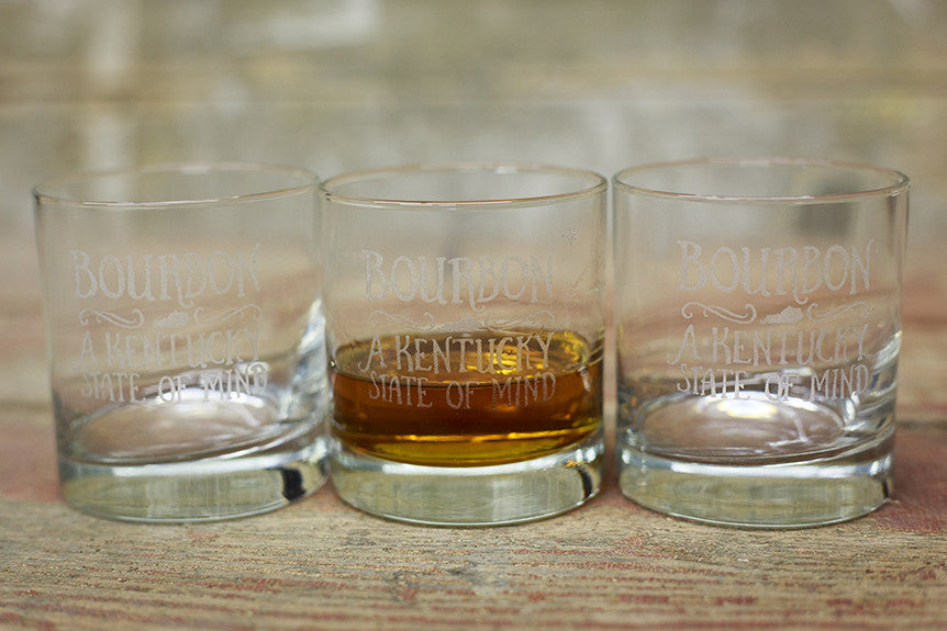 Bourbon Glasses by Cricket Press are Back!