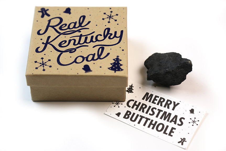 Send A Jerk A Lump Of Kentucky Coal!
