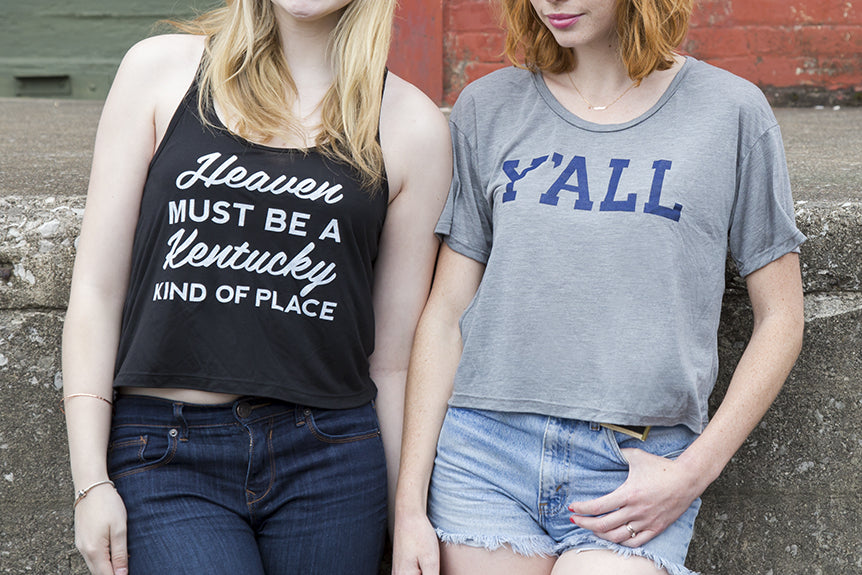 New Ladies' Tanks & Crop Tops