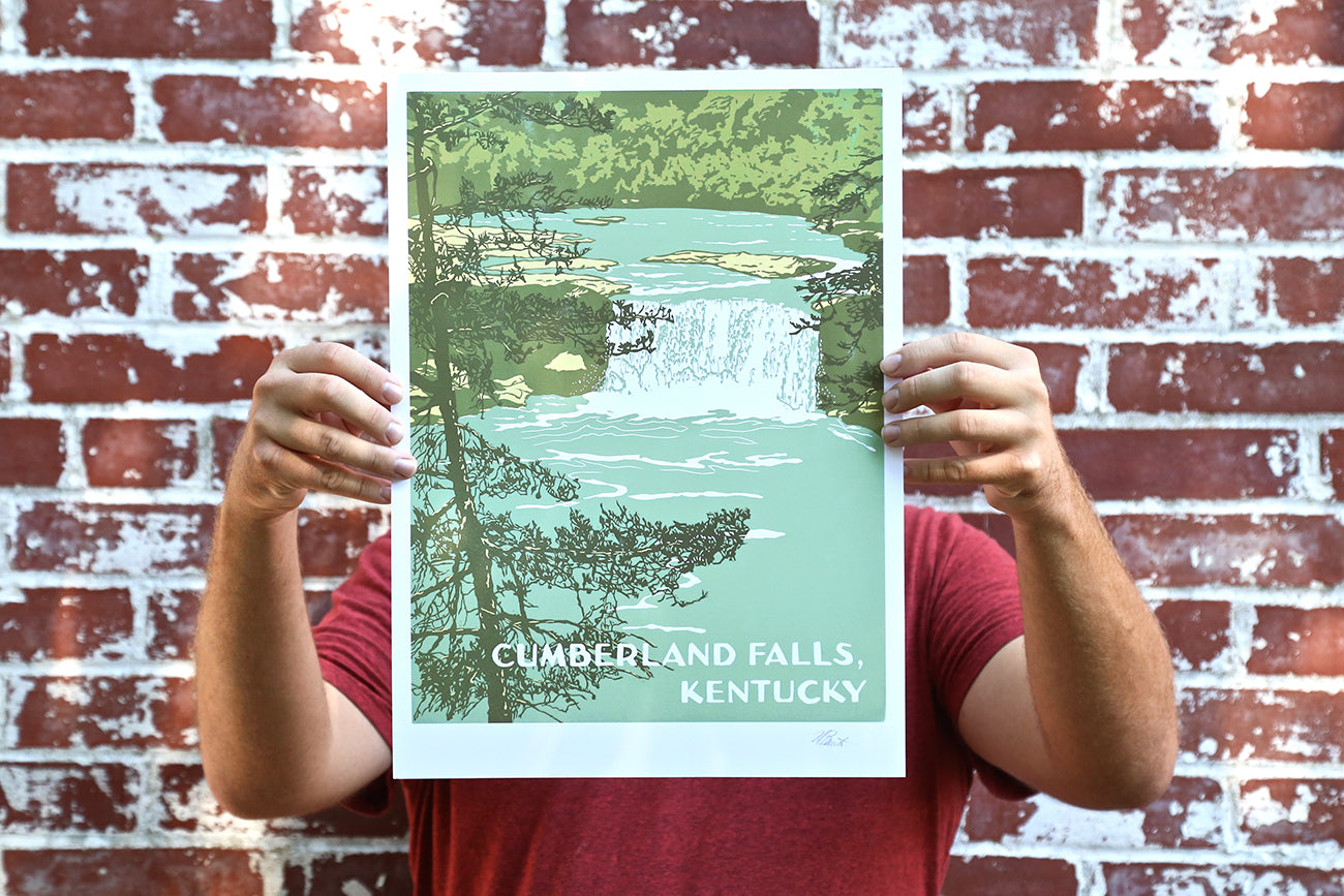 KY Natural Wonders Prints: Cumberland Falls Edition