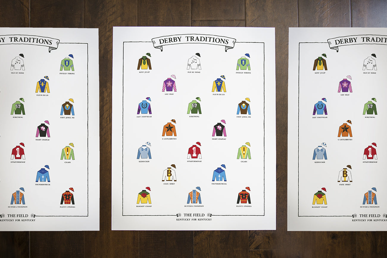"New ""Derby Traditions"" Print"