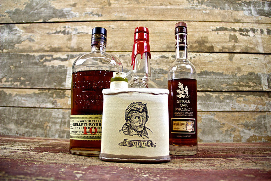 Daniel Boone Flasks By David Kenton Kring