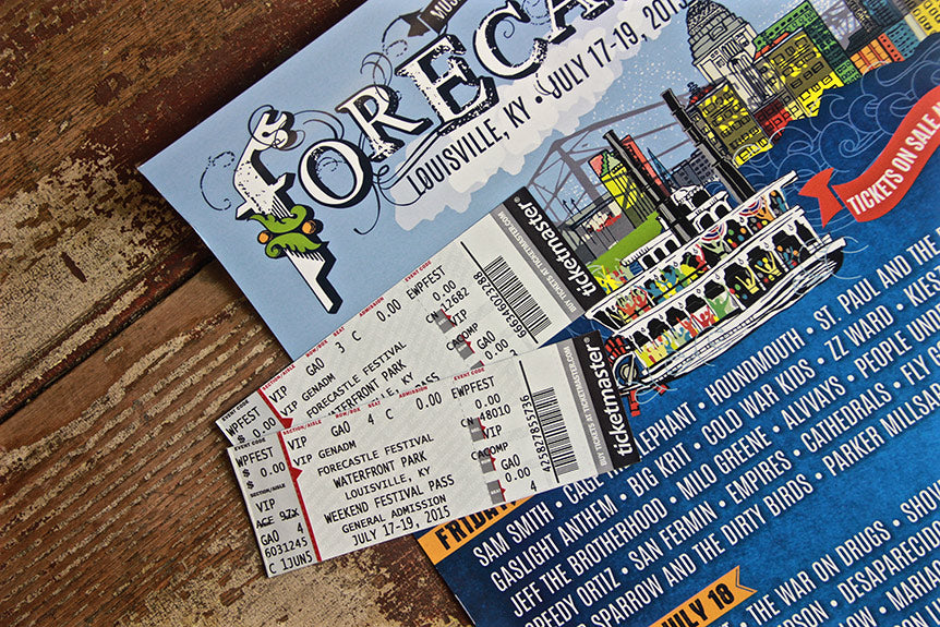 Win An Epic VIP Forecastle Kentucky Kicks Ass Part Pack For Two!