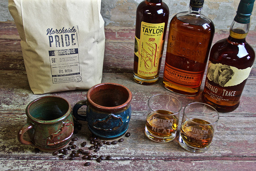 New Kentucky Mugs and Bourbon Glasses