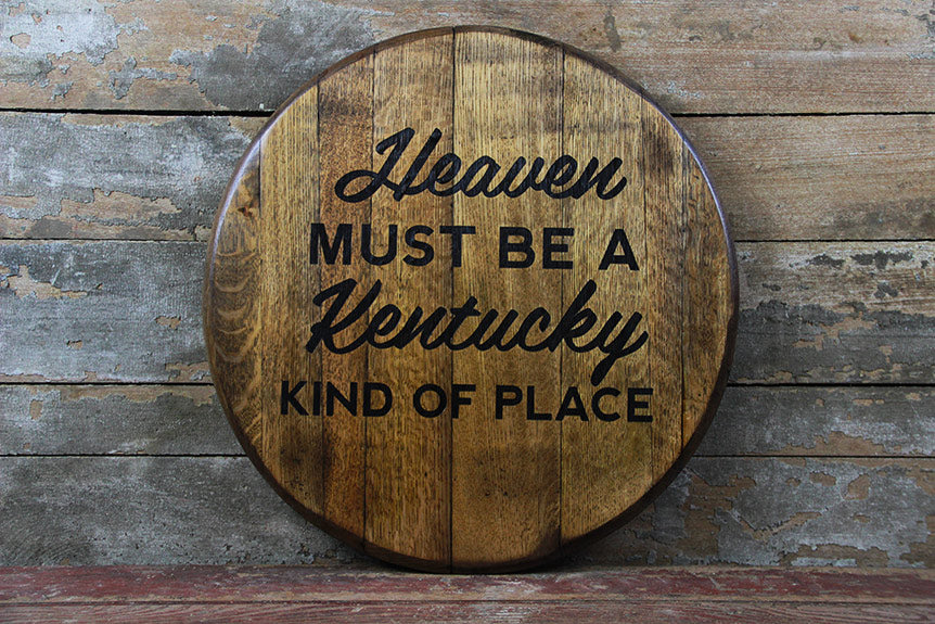Kentucky Bourbon Barrelheads For Proud Kentuckians