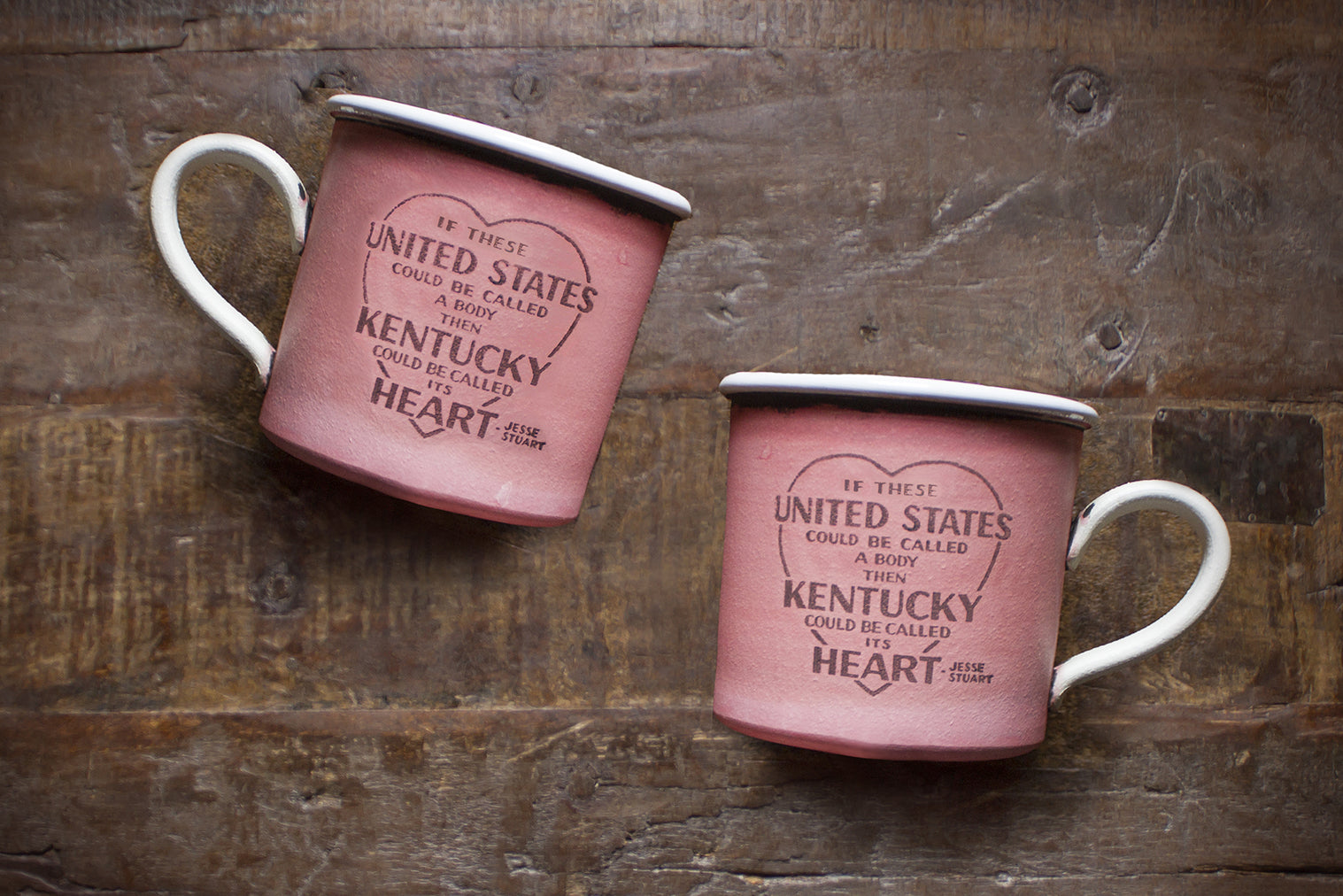 KY Heart Mugs By David Kring