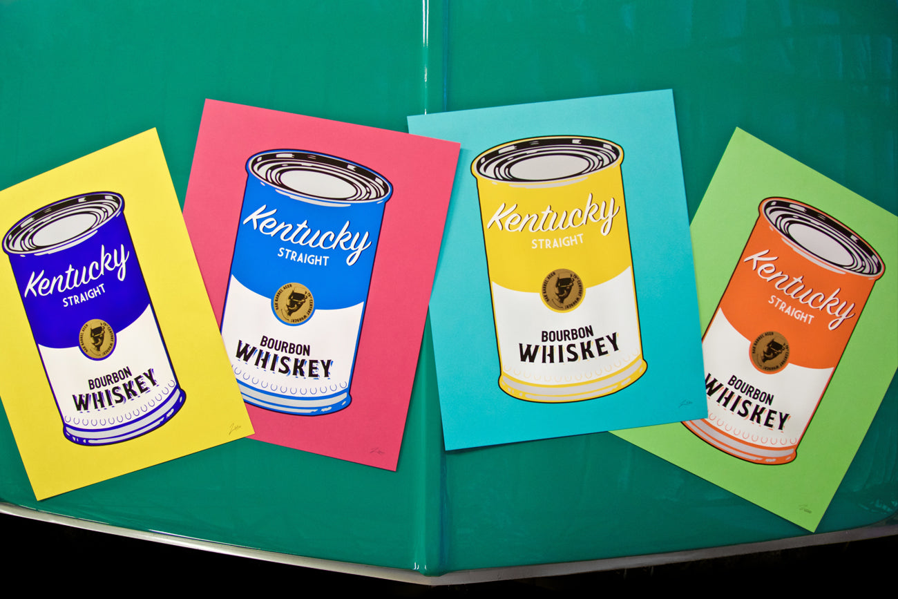 """KY Bourbon Can Art"" Print Series"