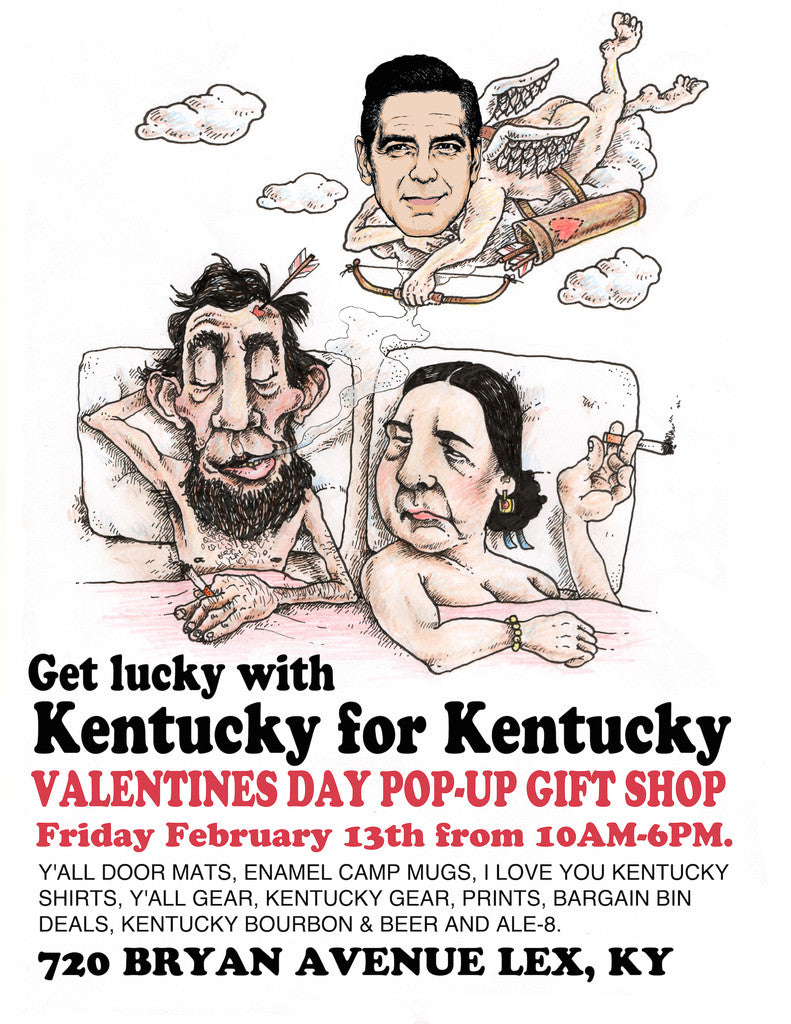 Getting Lucky with Kentucky for Kentucky Pop-Up Shop