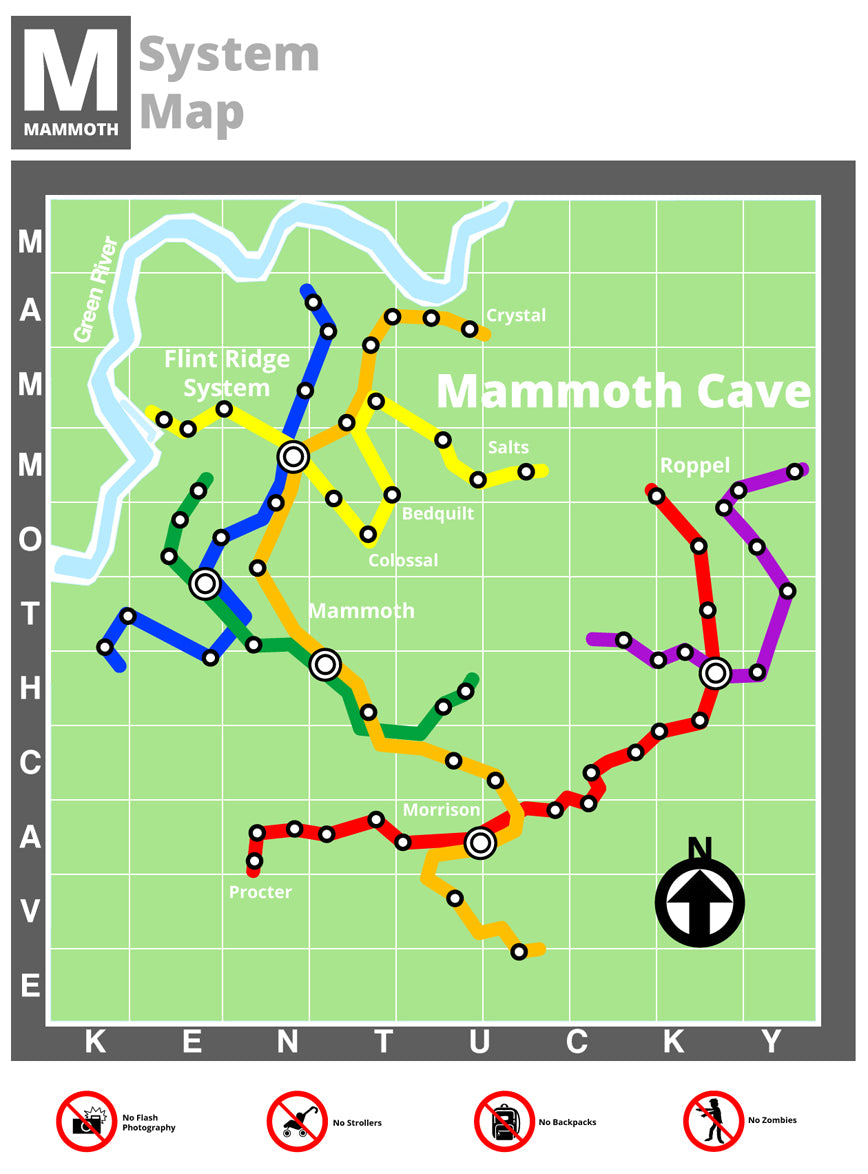 Mammoth Cave Reimagined As A Subway System