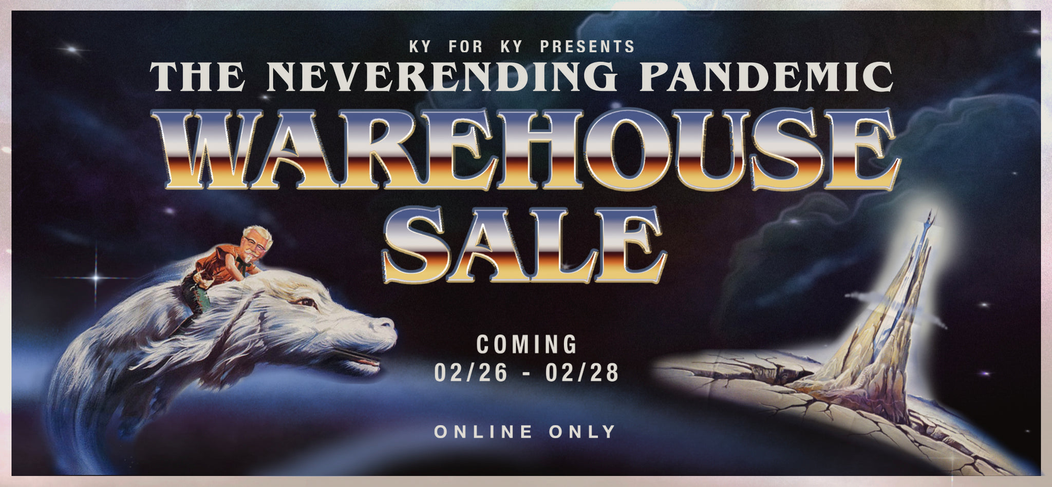 The NeverEnding Pandemic Warehouse Sale