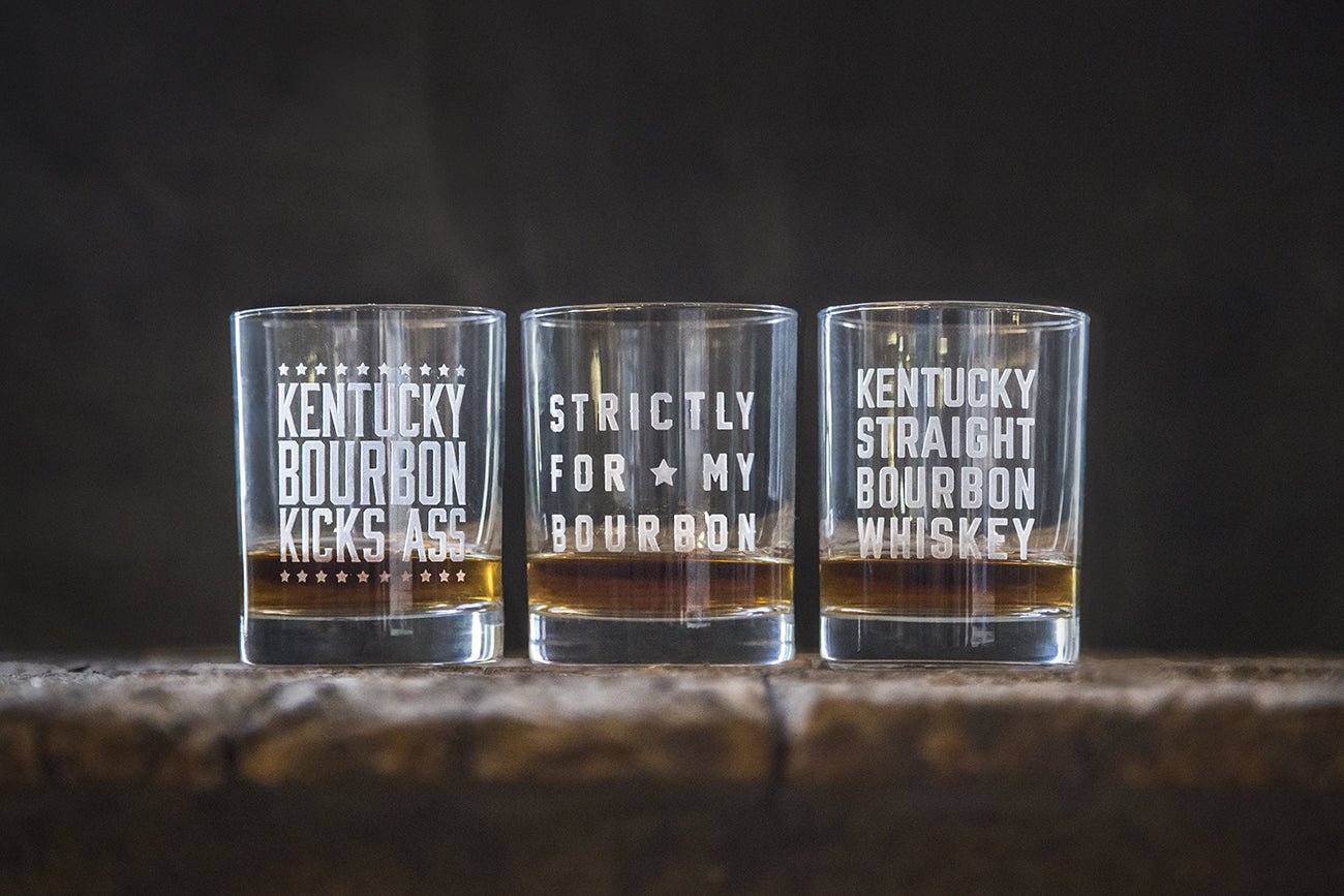 New Bourbon Glasses!