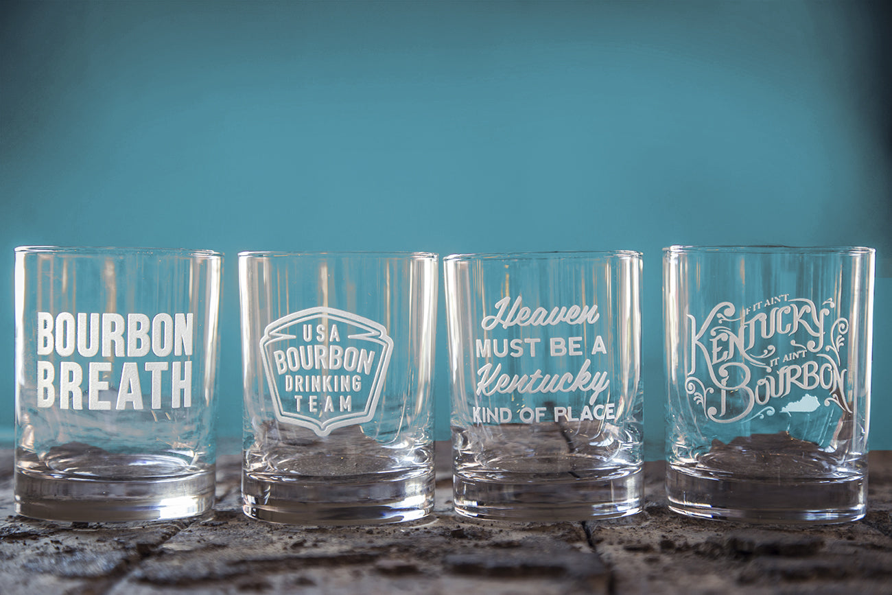 Bourbon Glass & Kentucky Rocks Restock!