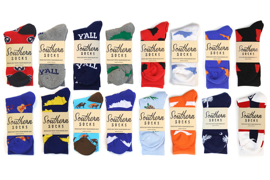 Rock Out With Your Southern Socks Out!