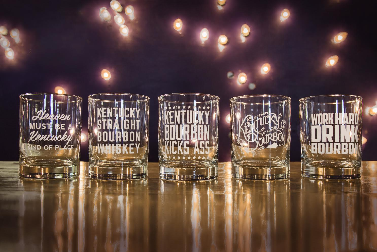 Bourbon Glasses and Kentucky Rocks Ice Cube Trays Restock!