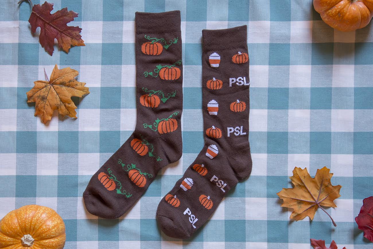 Socks For Pumpkin Lovers