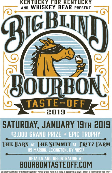 Big Blind Bourbon Taste off 2019