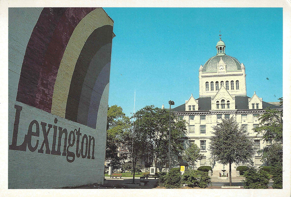 Lexington Rainbow Mural Postcard