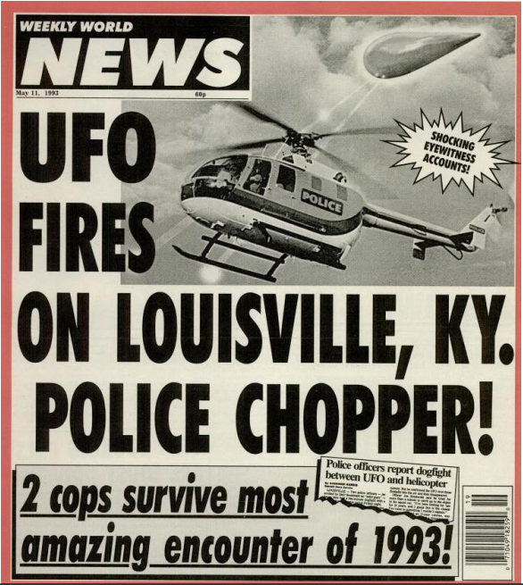 Louisville UFO helicopter