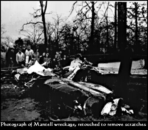 Mantell wreckage