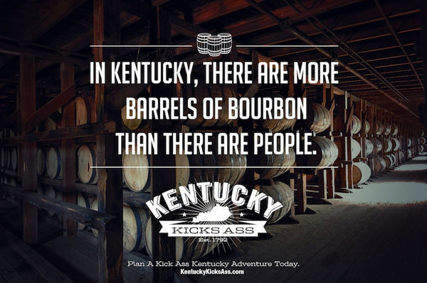 In Kentucky There Are More Barrels of Bourbon Than There Are People